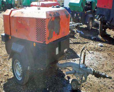 Ingersoll Rand 7/41 Compressor 140cfm @ 100psi