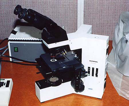 Olympus BX-40, Biological Research Microscope