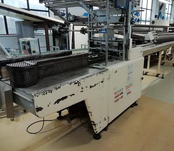 Tevopharm CM6  BISCUIT ROLL WRAPPING MACHINE
