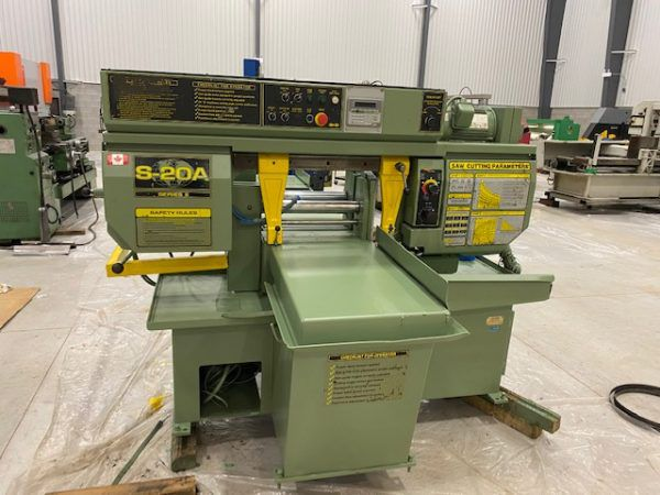 HydMech S-20A Series II automatic infeed - Mitre Band Saw Semi Automatic
