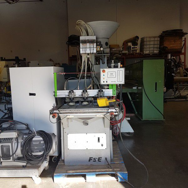 Biesse FSE, Dowel Bore Glue & Insert Machine