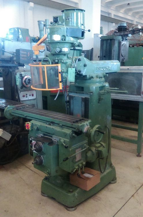 Induma Rapid head milling Max. 2200 rpm