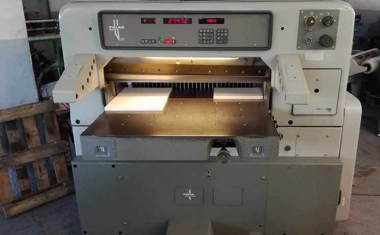 Polar 92 EM, Cutting Machine