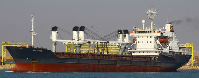 Stocznia Szczecinska Geared Bulk Carrier 11722 DWT ON 8.3M DRAFT