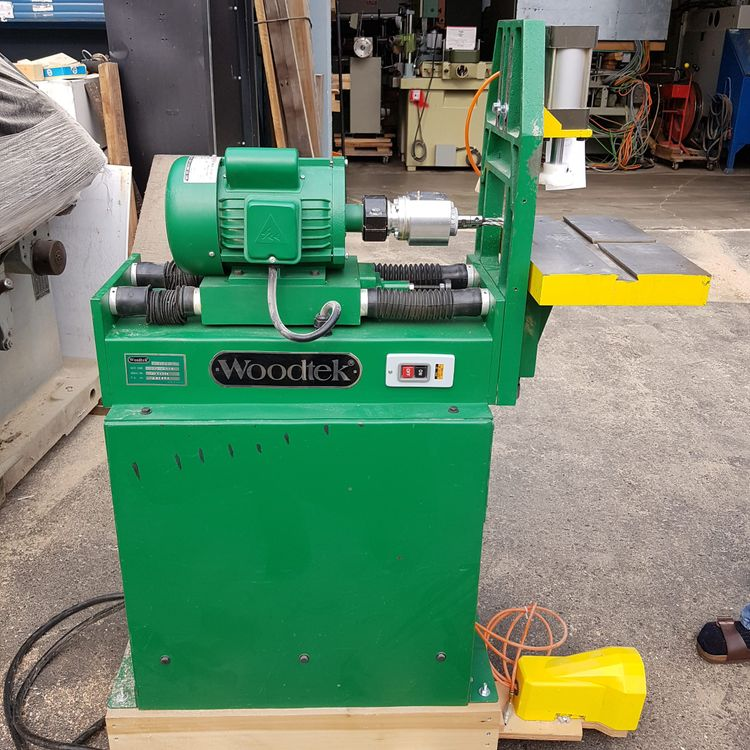 Woodtek Double Spindle Horizontal Drill
