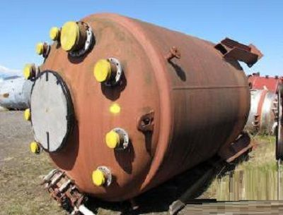 Balfour, Pfaudler 13,640 Litre Glass Lined Reactor Body