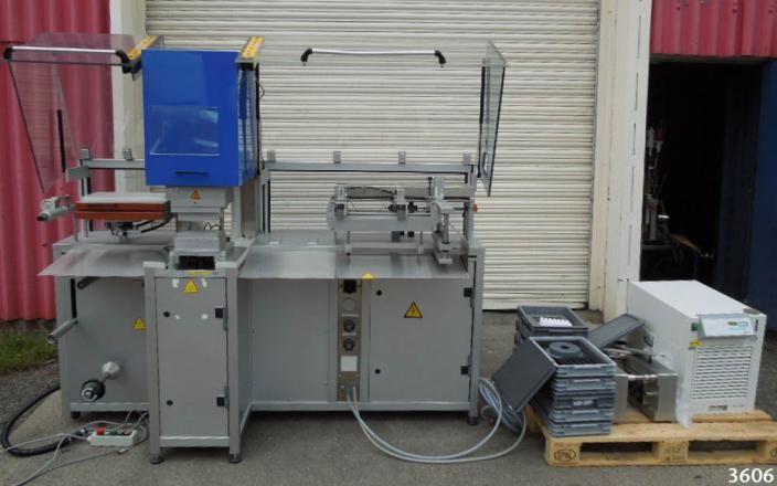 Rohrer R5500 2170 x 800 x 1900mm high COLLIN BLISTER PACKER