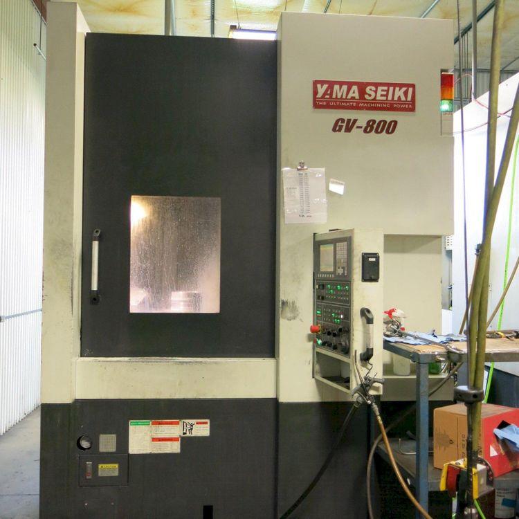 Yama Seiki Fanuc Oi-TD Control 1500 RPM GV-800 3 Axis