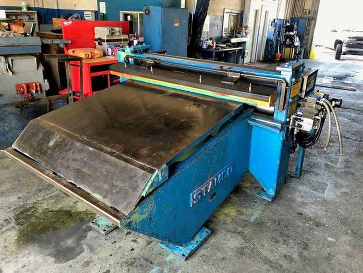 """Stamco 60"""" Wide Peeler/Pinch Roll Table"""