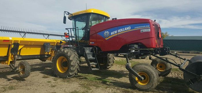 New Holland Swather