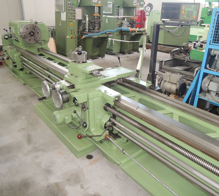 VDF Boehringer Universal Lathe with 2 Axis MITUTOYO Digital Display 710 rpm V 5 / 6 000