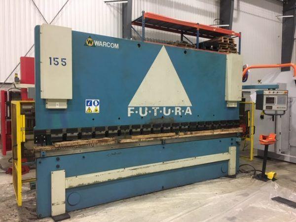 Warcom Futura 160-40 Hydraulic CNC 160 Ton