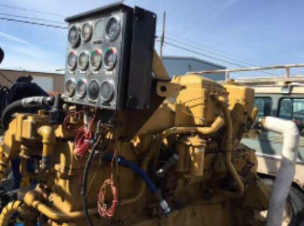 CAT D353 New Style Diesel marine engine