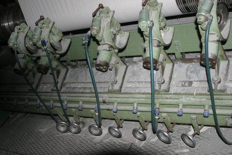 Voith 2300 mm type 45N 230 slitter rewinder