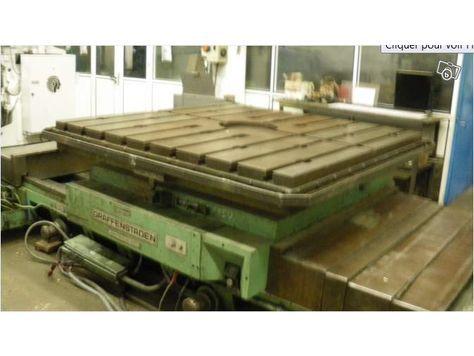 Graffenstaden MATA 122 rotary table