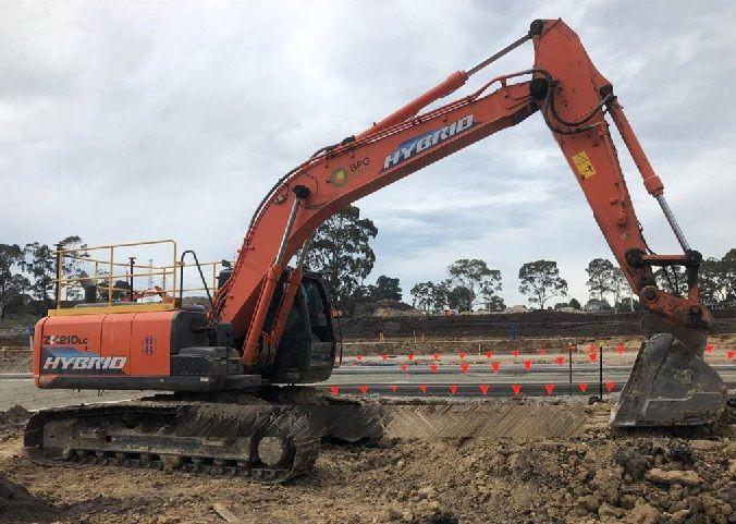 Hitachi ZH210LC-5 Crawler Excavators
