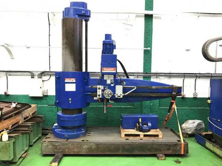 Asquith 6PT 25-120″ Radial Arm Drilling Machine. 1560 rpm