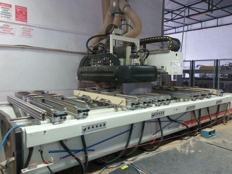 Morbidelli A 600, CNC