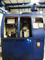 Tornos FANUC PNC DECO Variable DECO 2000/7 9 Axis