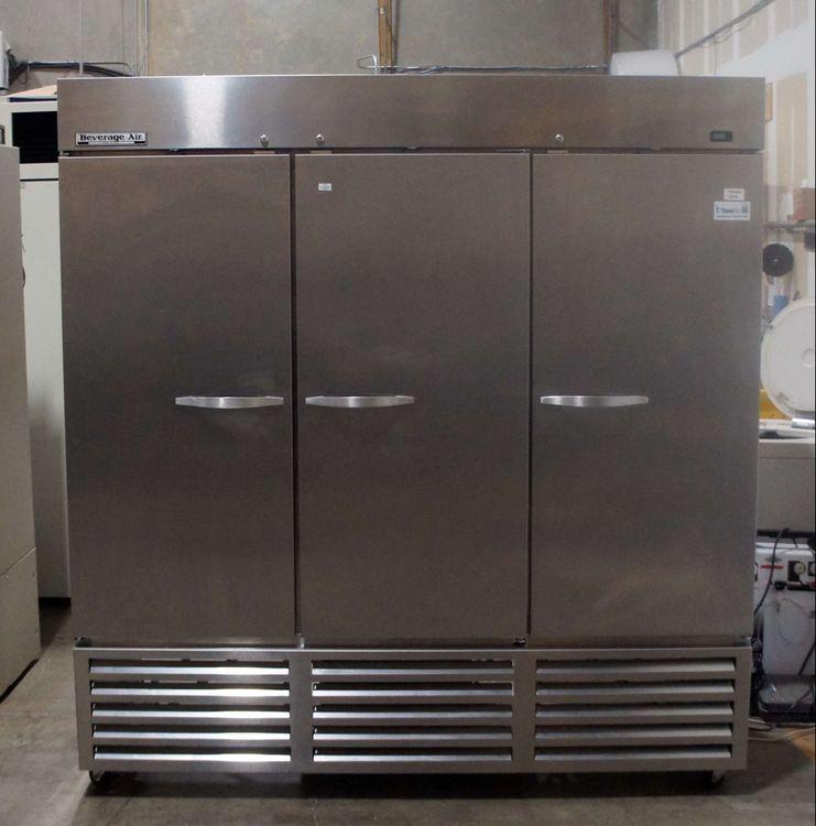 Beverage Air KR74-1AS 72 cu. ft. Triple Door Refrigerator