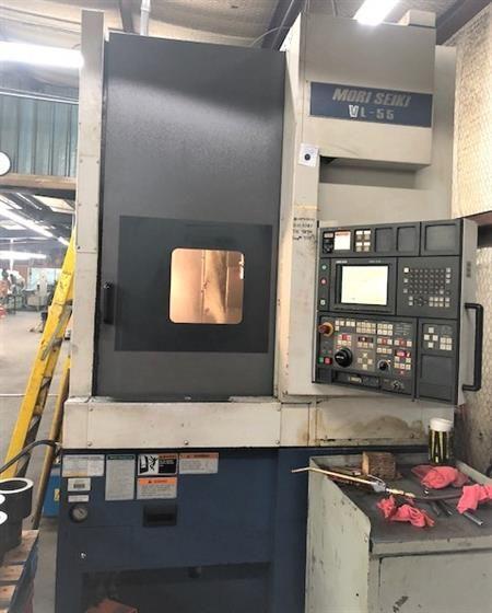 Mori Seiki VL-55 Fanuc MSC-518 (18-iT) CNC Vertical Boring Mill