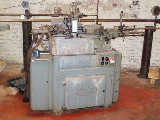 Strohm, Traub Engine Lathe Variable 125
