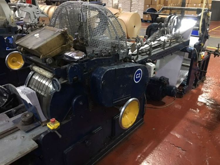 Cobden Chadwick No 2, Paper flat&satchel bagmaking machine
