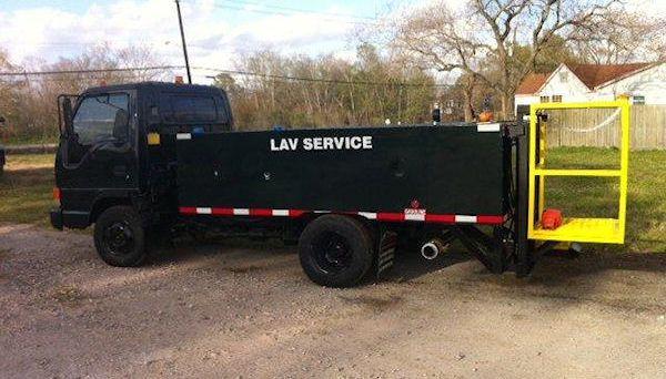 Isuzu Lavatory Service Truck