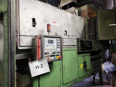 FARM BRASS SM210 - 8 guide Gas billet-slug heating furnace for forging