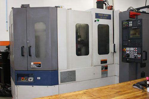 Mori Seiki SH-403 CNC HORIZONTAL MACHINING CENTER 4 Axis