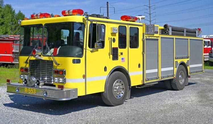HME Rescue Pumper