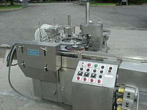 RFPC-61 MONO-BLOCK FILLER/PLUGGER/SCREW CAPPER