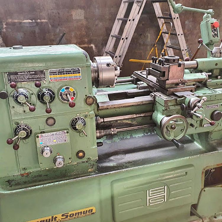Ernault Somua Engine Lathe 2500 rpm AC280