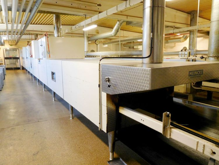 Meincke Swiss roll production line 2220 pieces of 260 grams per hour