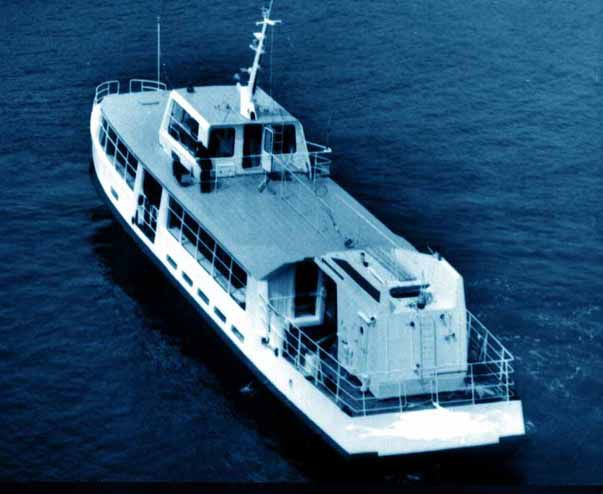 Small Coastal Day Passenger Vessel LDT: 64 t