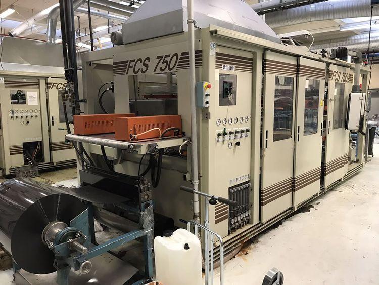 FCS, TFT 750 Hydraulic Machine