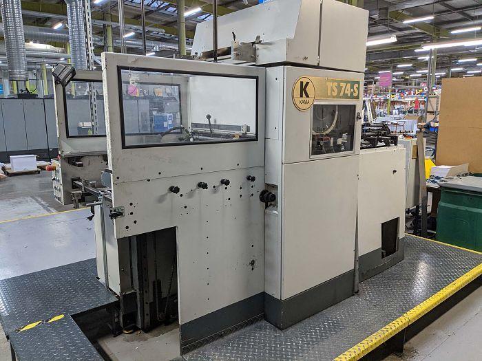 Kama TS 74, Automatic die cutter