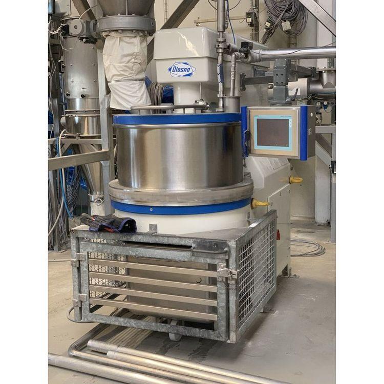 Diosna SP 160 E Spiral mixer with bottom discharge