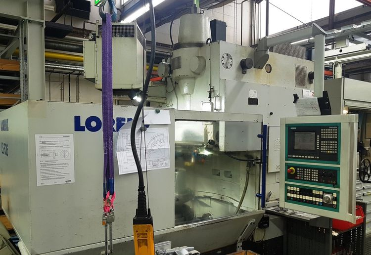 Lorenz LS 636 510 Hub/min Gear Shaping Machine
