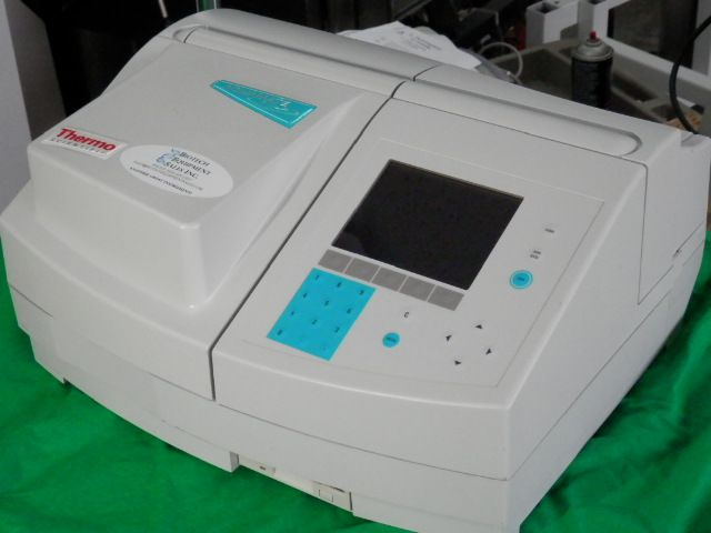 Helios, Thermo Aquamate 2000E, UV-Vis spectrometer
