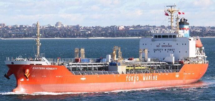 Shin Kurushima Chemical And Oil Tanker 8719 DWT ON 7.48M Draft
