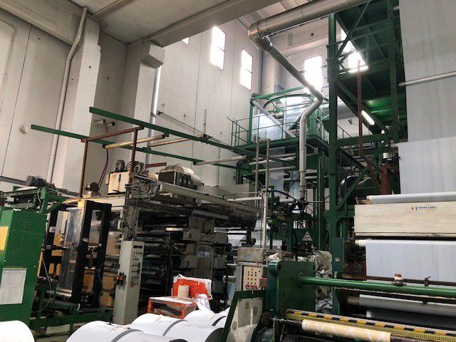 MAM EXTRUSION LINE ES KB 70 for  MD + LDPE