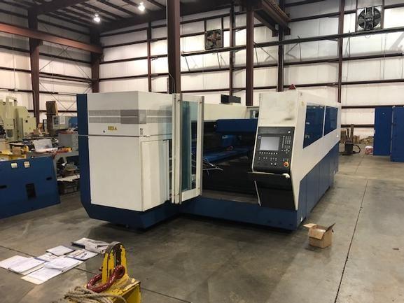 Trumpf Trulaser 3530 Siemens CNC Controls