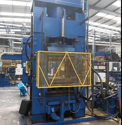 Bipel Downstroking Hydraulic Compression Press