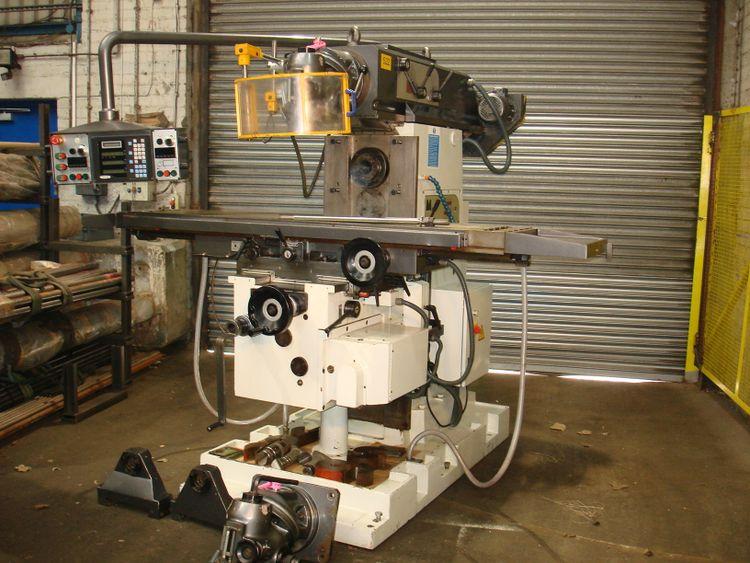 Milko 90H UNIVERSAL MILLING MACHINE with Motorised overarm 1400 rpm