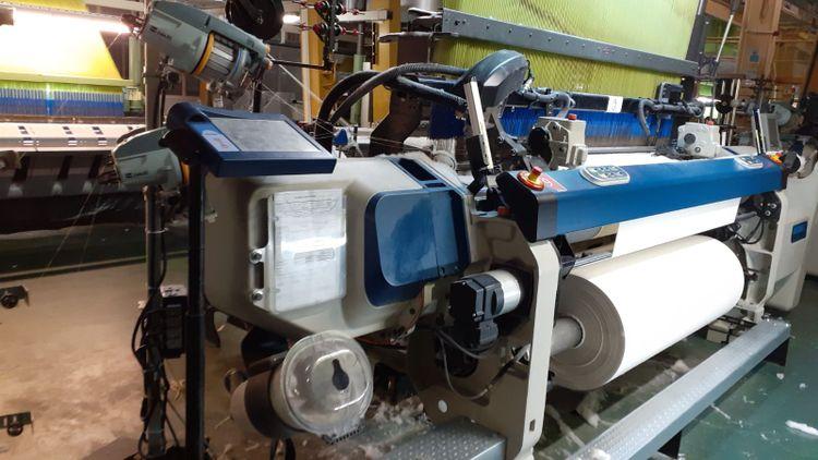 42 Air jet looms, Jacquard looms Full Jacquard Dobby Weaving Mill