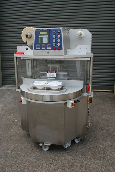 Packaging Automation Vision 2016 Cap  Tray Sealer