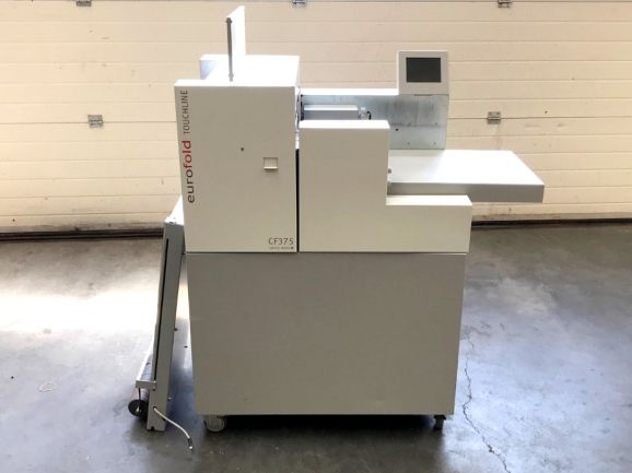 Multigraf Eurofold Touchline CF375, Crease- and folding machine