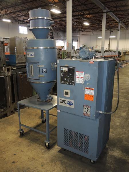 AEC Whitlock WD-50, Dehumidifying Material Dryer
