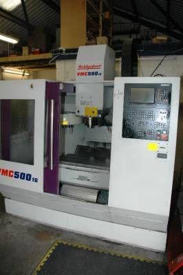 Bridgeport VMC 500/16 3 Axis